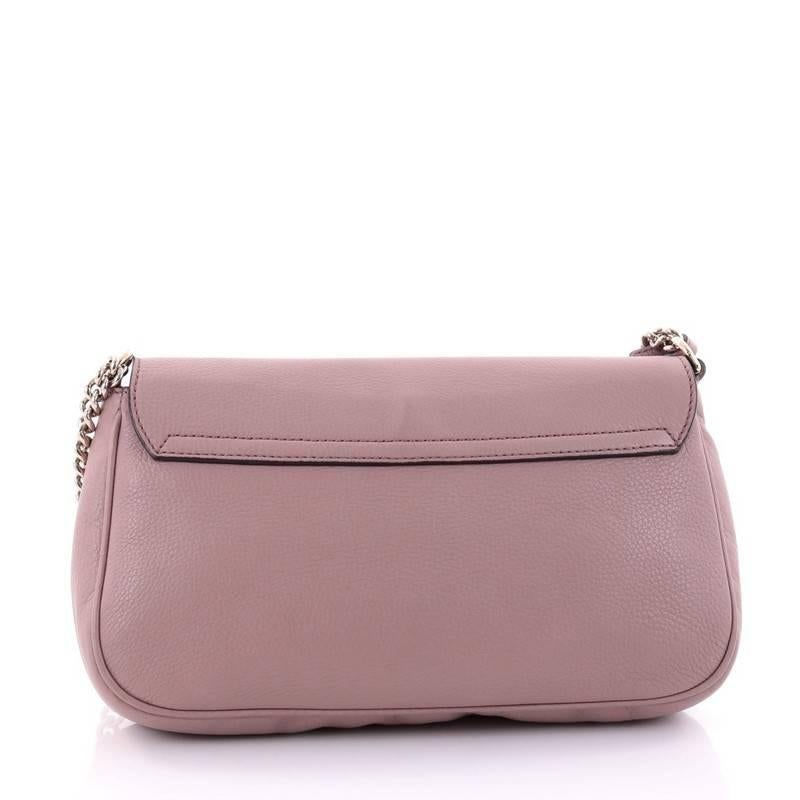590103ad3b2 Gucci Soho Chain Crossbody Bag Leather Medium at 1stdibs