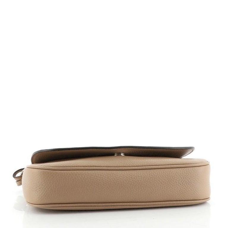 Women's or Men's Gucci Soho Chain Crossbody Bag Leather Medium