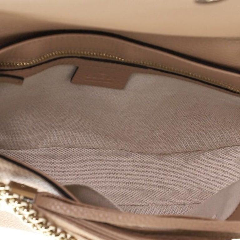 Gucci Soho Chain Crossbody Bag Leather Medium 1