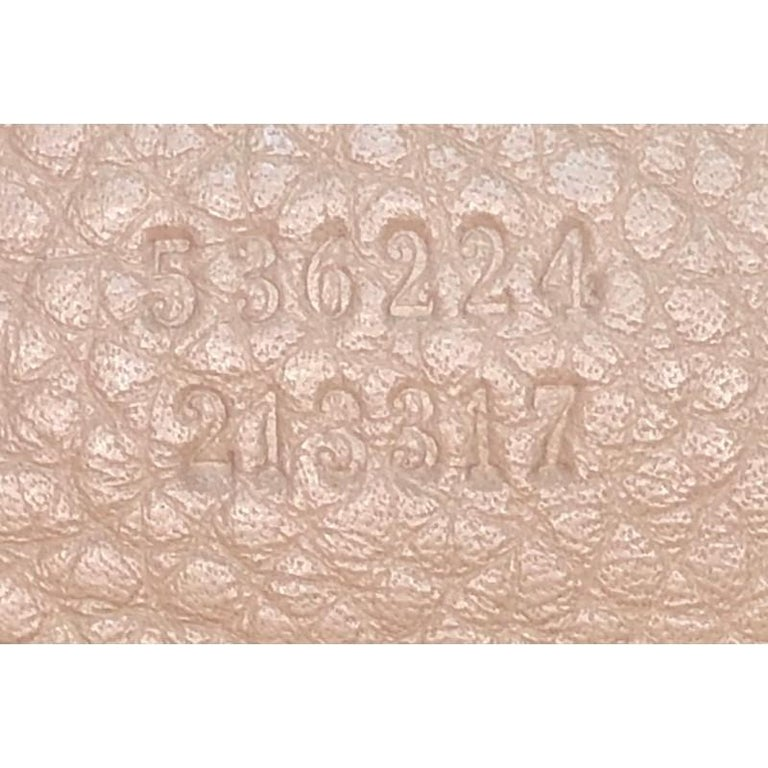 Gucci Soho Chain Crossbody Bag Leather Medium 2