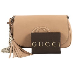 Gucci Soho Chain Crossbody Bag Leather Medium