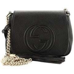 Gucci Soho Chain Crossbody Bag Leather Small