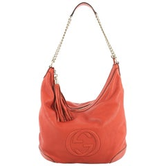 Gucci Soho Chain Hobo Leather Medium