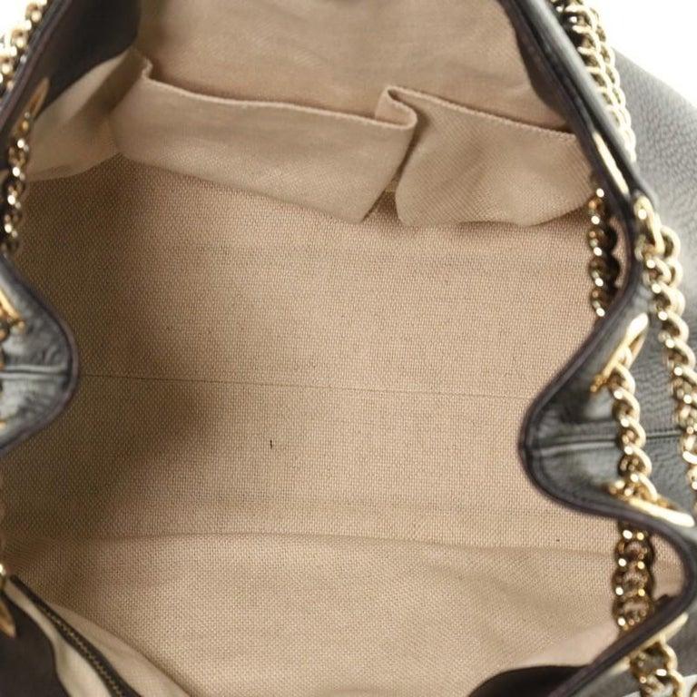 Gucci Soho Chain Strap Shoulder Bag Leather Medium For Sale 1