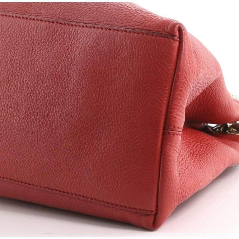 Gucci Soho Chain Strap Shoulder Bag Leather Medium 1