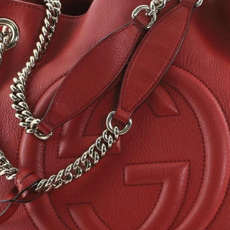 Gucci Soho Chain Strap Shoulder Bag Leather Medium 2