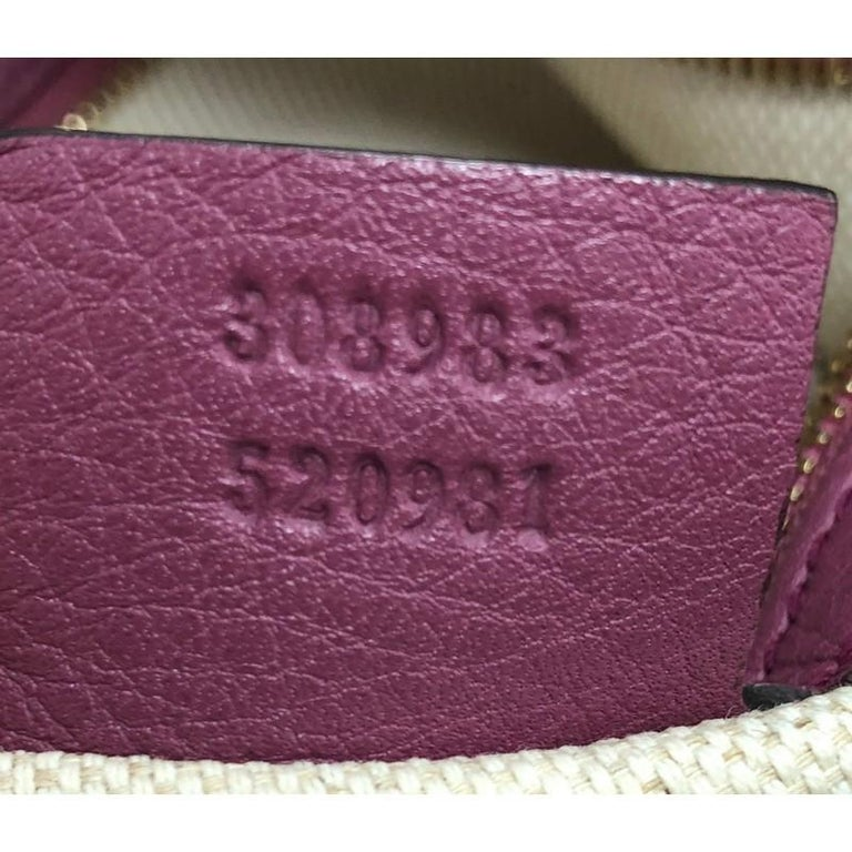Gucci Soho Chain Zip Shoulder Bag Leather Small For Sale 4