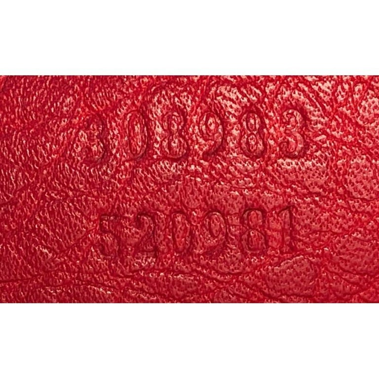 Gucci Soho Chain Zip Shoulder Bag Leather Small 4