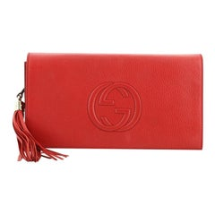 Gucci Soho Clutch Leather