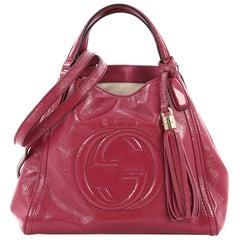 Gucci Soho Convertible Shoulder Bag Patent Small