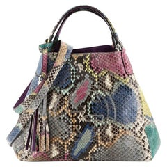 Gucci Soho Convertible Shoulder Bag Python Small
