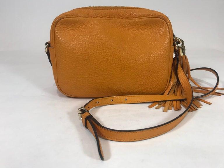 Brown Gucci Soho Disco Crossbody Bag For Sale