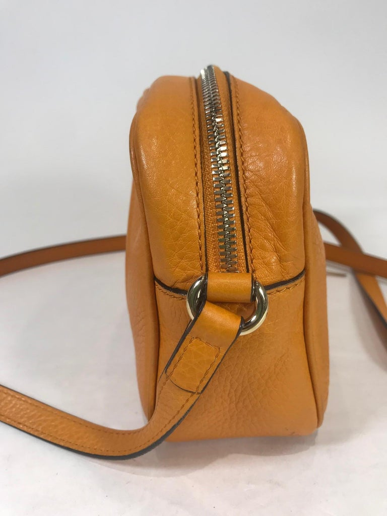 Gucci Soho Disco Crossbody Bag In Excellent Condition For Sale In Roslyn, NY