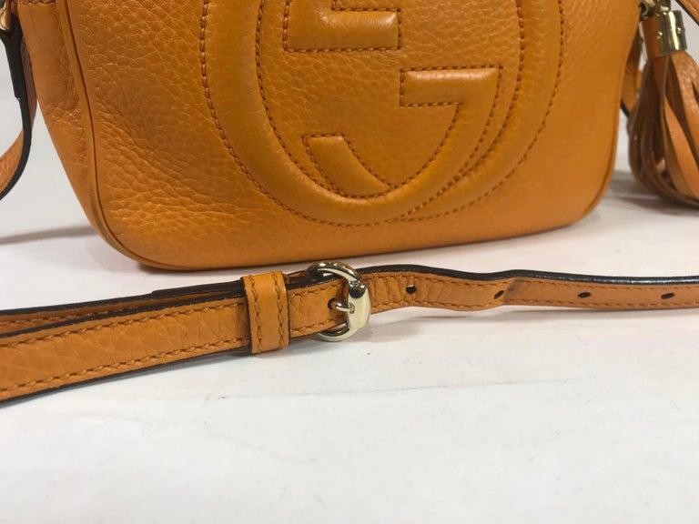 Gucci Soho Disco Crossbody Bag For Sale 4