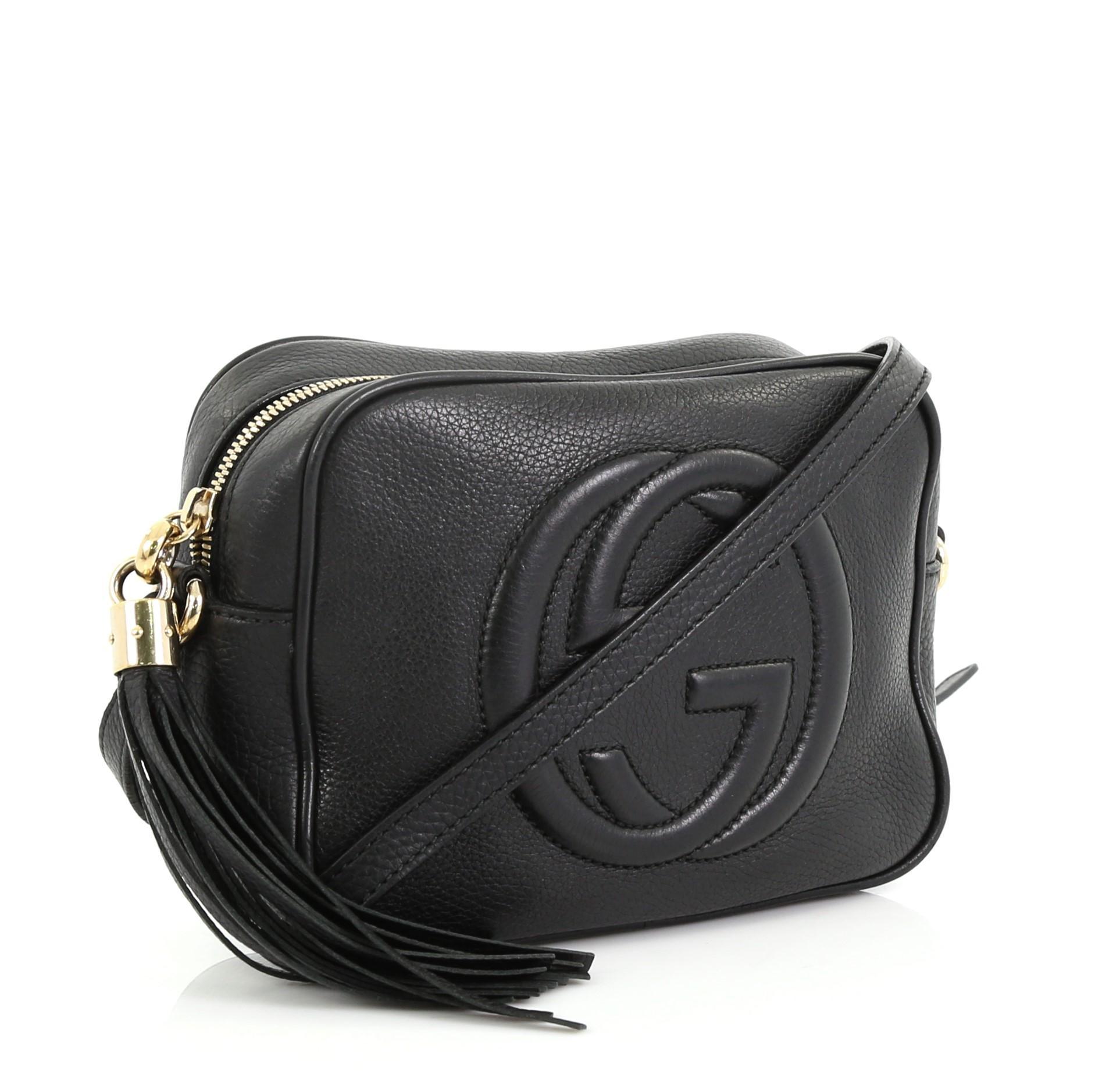 ff376b294 Gucci Soho Disco Crossbody Bag Leather Small at 1stdibs