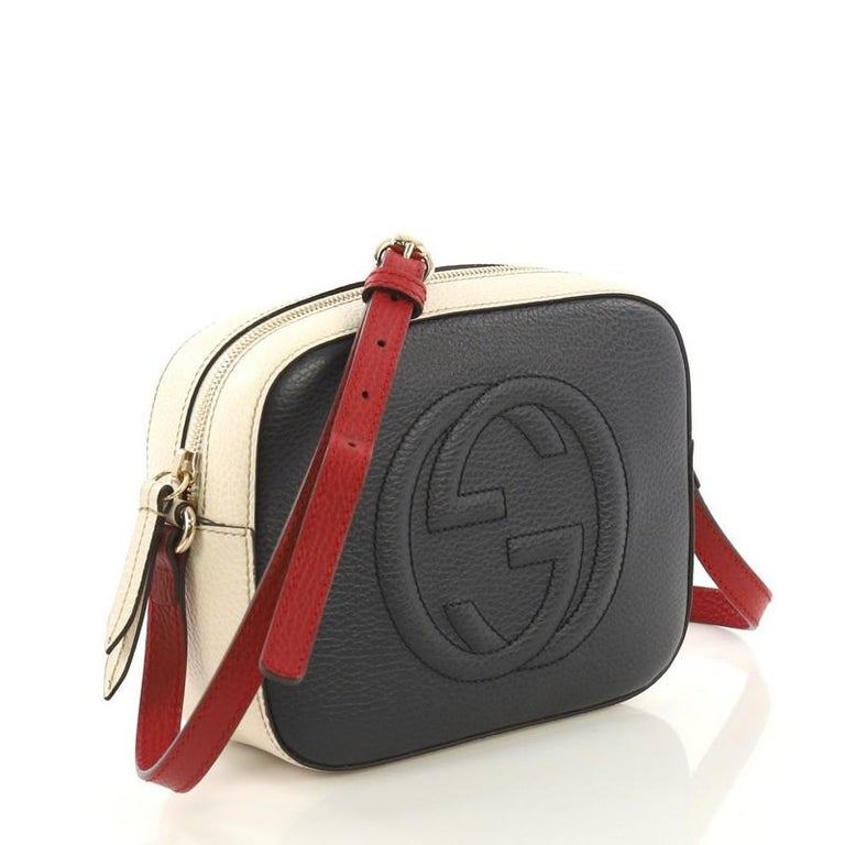 7903b2cdded2 Gucci Soho Disco Crossbody Bag Leather Small For Sale at 1stdibs