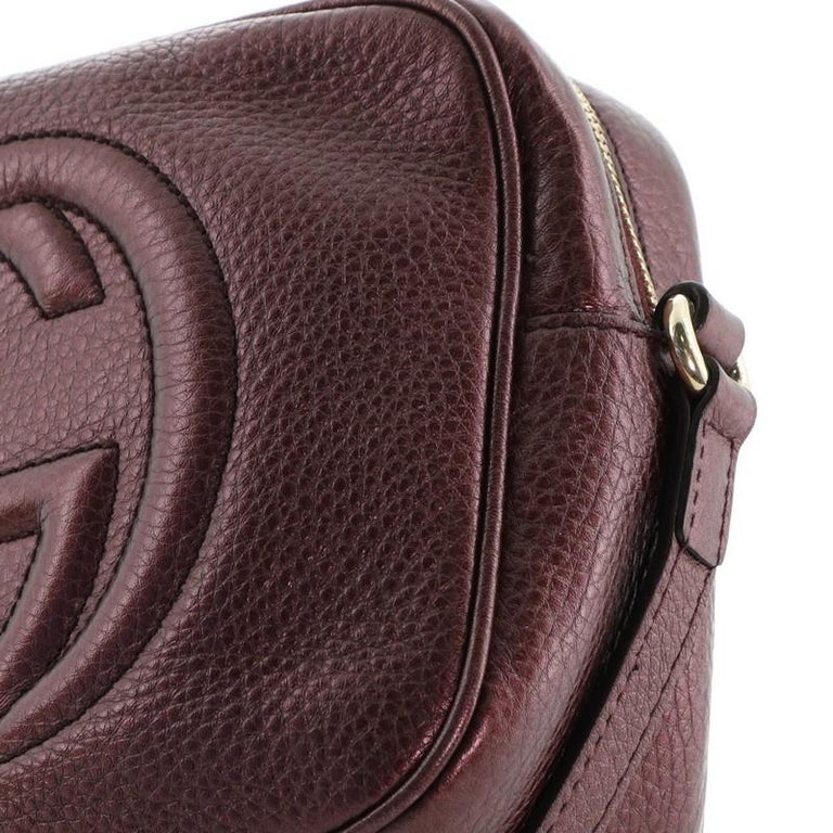 Gucci Soho Disco Crossbody Bag Leather Small For Sale 2