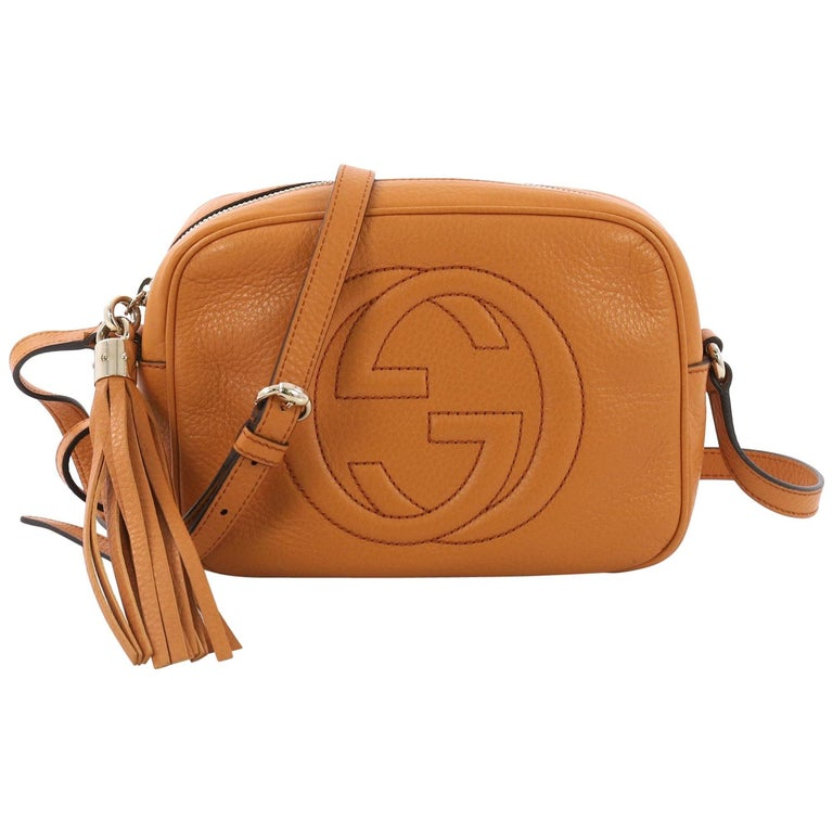 616603d7954 Gucci Soho Disco Crossbody Bag Leather Small at 1stdibs