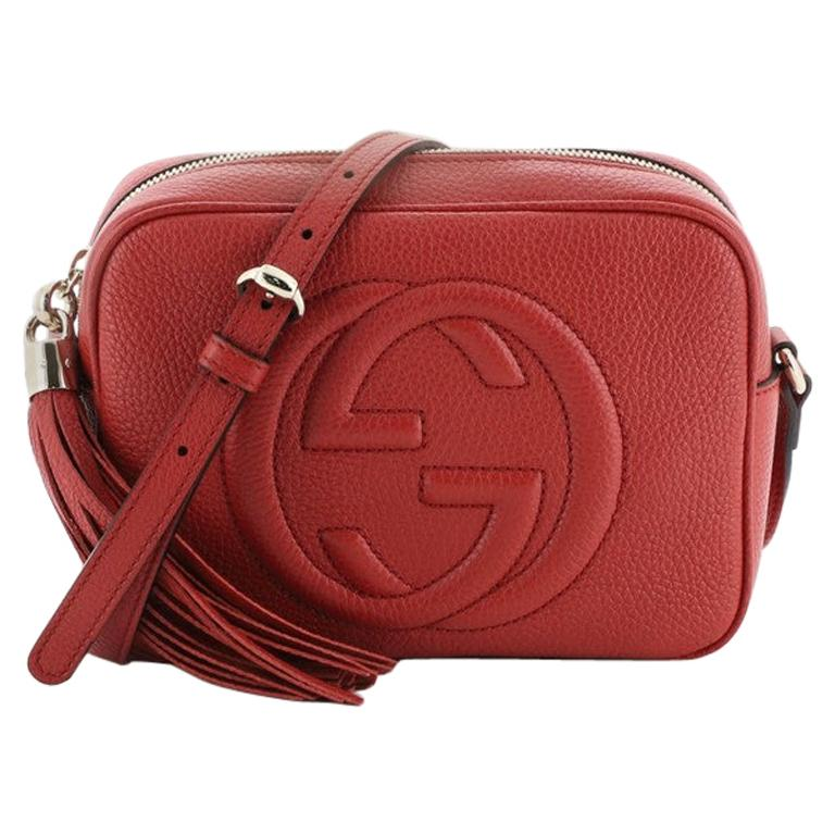 Gucci Soho Disco Crossbody Bag Leather Small For Sale