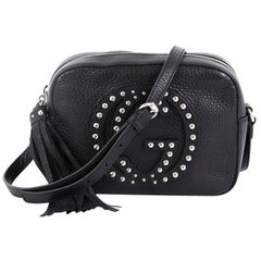 Gucci Soho Disco Crossbody Bag Studded Leather Small