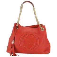c7e5ce3bb7c2 Gucci Guccissima Red Nylon Tote Bag For Sale at 1stdibs