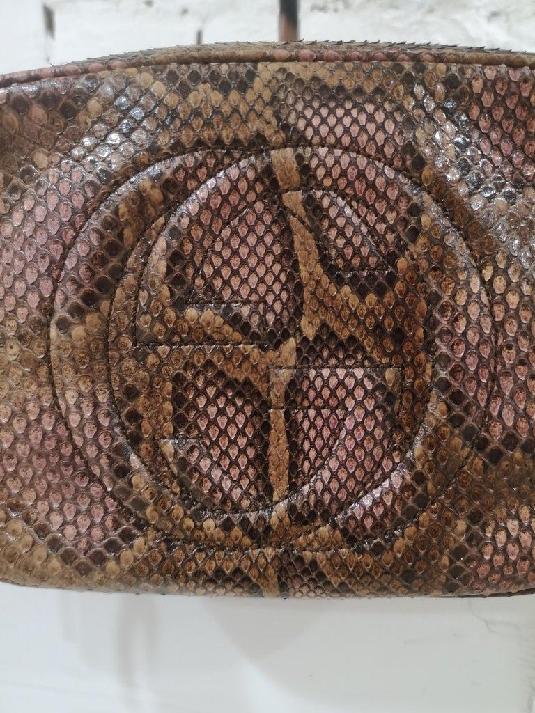 Gucci Soho python shoulder bag Measurements: 15 * 20 cm depth 8 cm