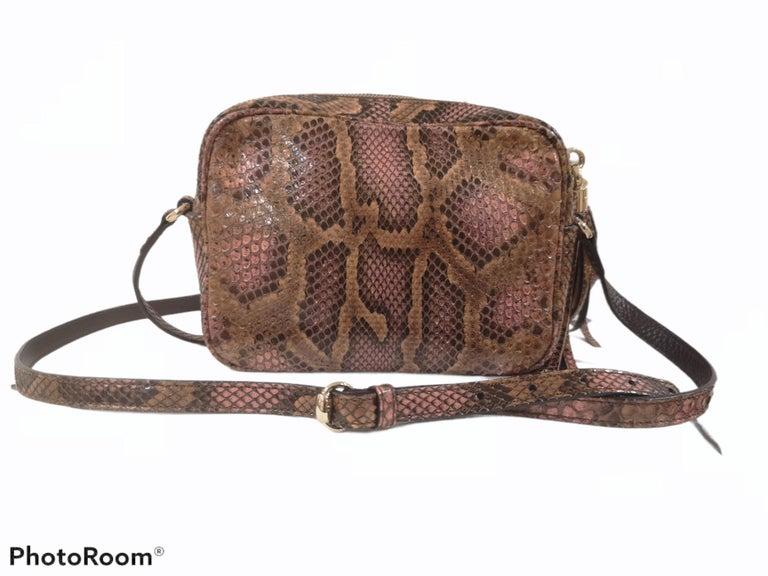 Gucci Soho python shoulder bag For Sale 4