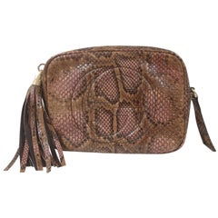 Gucci Soho python shoulder bag