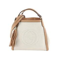 Gucci Soho Shoulder Bag Canvas Small