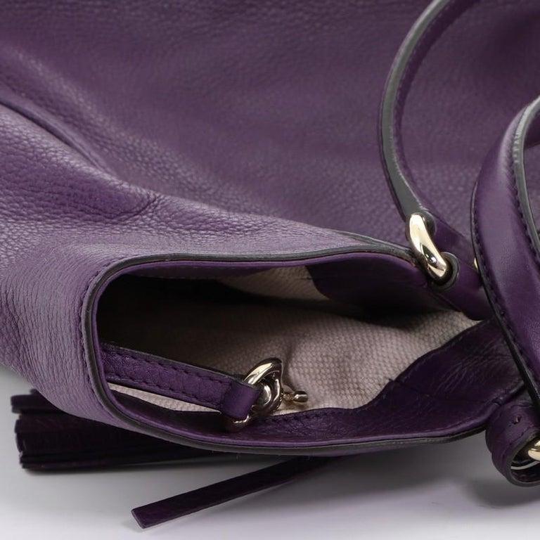 Gucci Soho Shoulder Bag Leather Medium 4