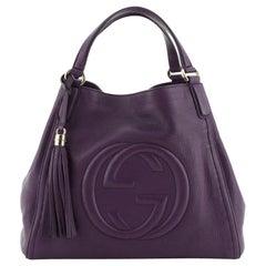 Gucci Soho Shoulder Bag Leather Medium