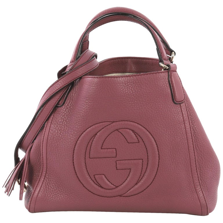 452445954 Gucci Soho Shoulder Bag Leather Small For Sale at 1stdibs