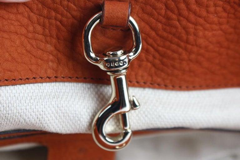 4da8f62644f6 Gucci Soho Tassel Burnt Suede Chain Tote 7ge1223 Orange Nubuck Leather  Shoulder For Sale 7