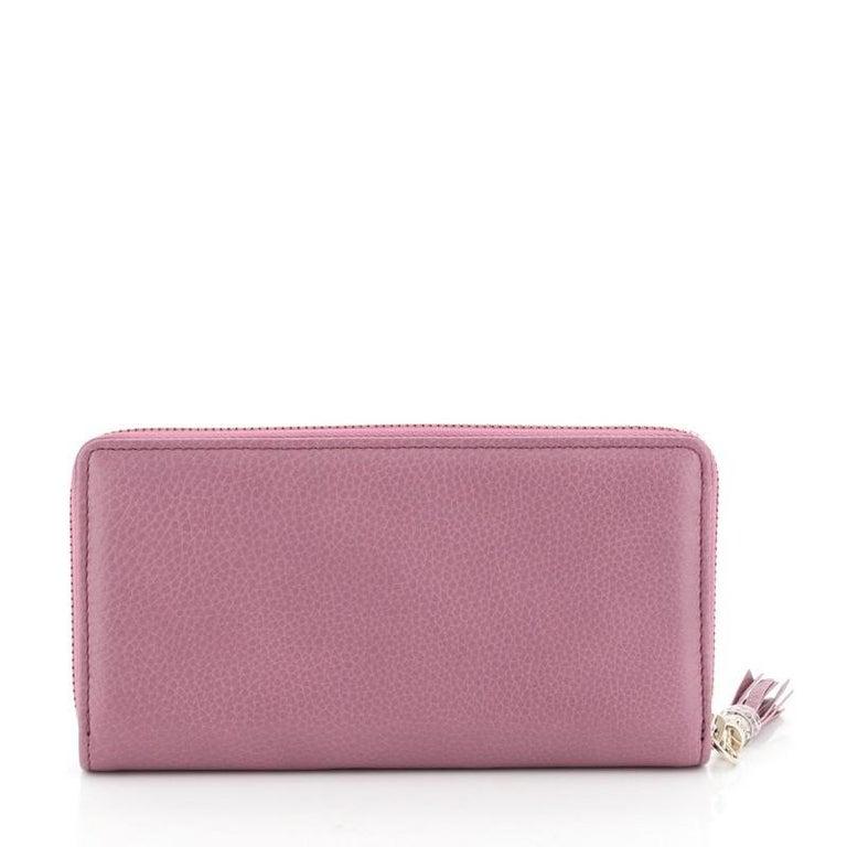 Women's or Men's Gucci Soho Zip Around Wallet Leather
