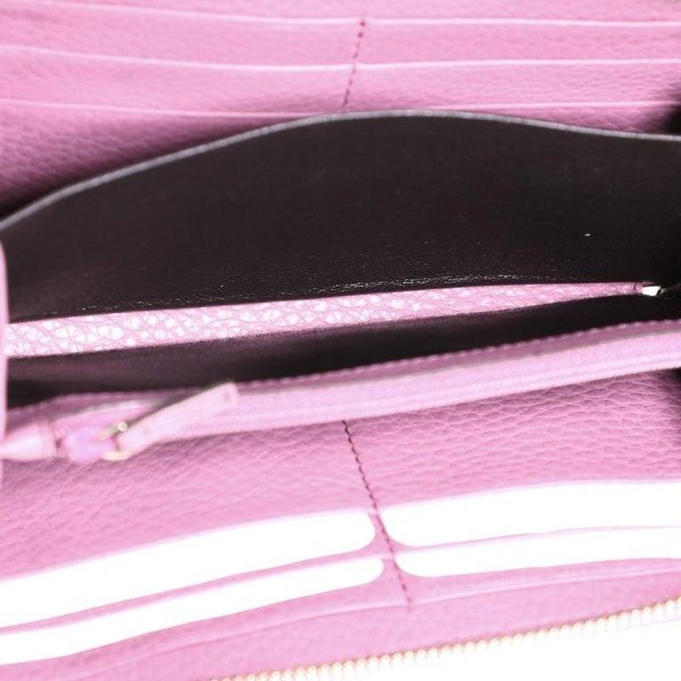 Gucci Soho Zip Around Wallet Leather 2