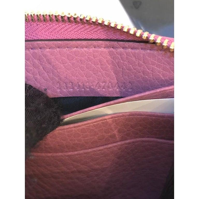 Gucci Soho Zip Around Wallet Leather 3