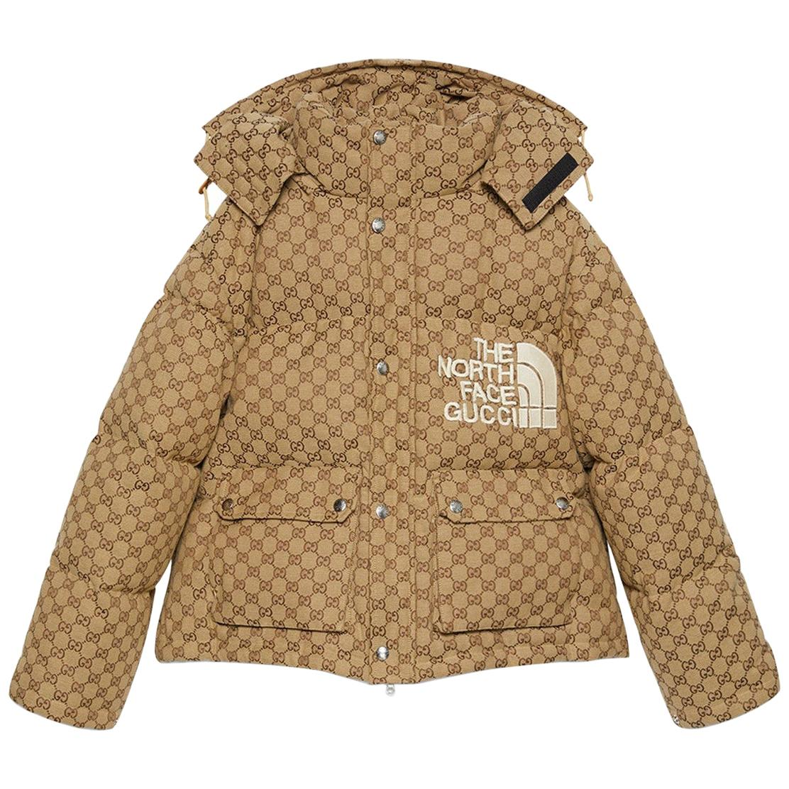 GUCCI SPECIAL ORDER North Face GG print Monogram 2021 Collection Medium Unisex