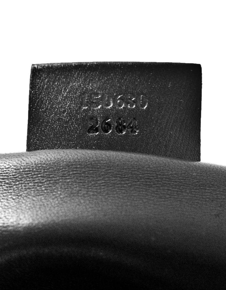 Gucci Special Order Runway Black Alligator Boston Doctor Bag For Sale 5