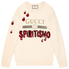 Gucci Spiritismo Logo Cotton Sweatshirt
