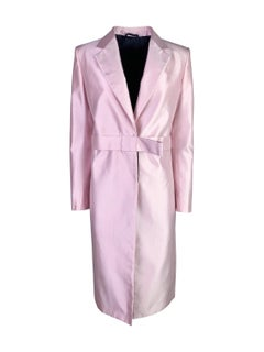 Gucci Spring 1998 Silk Coat in Pink