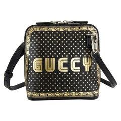 Gucci Spring 2018 Runway Guccy Mini Moon and Stars Crossbody Bag