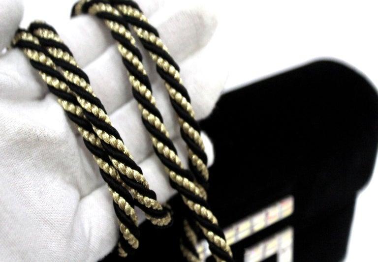 Gucci Square G Bag In Black Velvet  For Sale 2