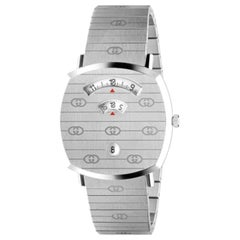 Gucci Stainless Steel Grip Watch Designer Sku YA157410
