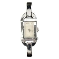 Gucci Stainless Steel Ladies Wrist Watch Mod 6800 L Quartz