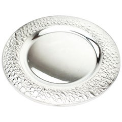 Gucci Sterling Silver Round Dish