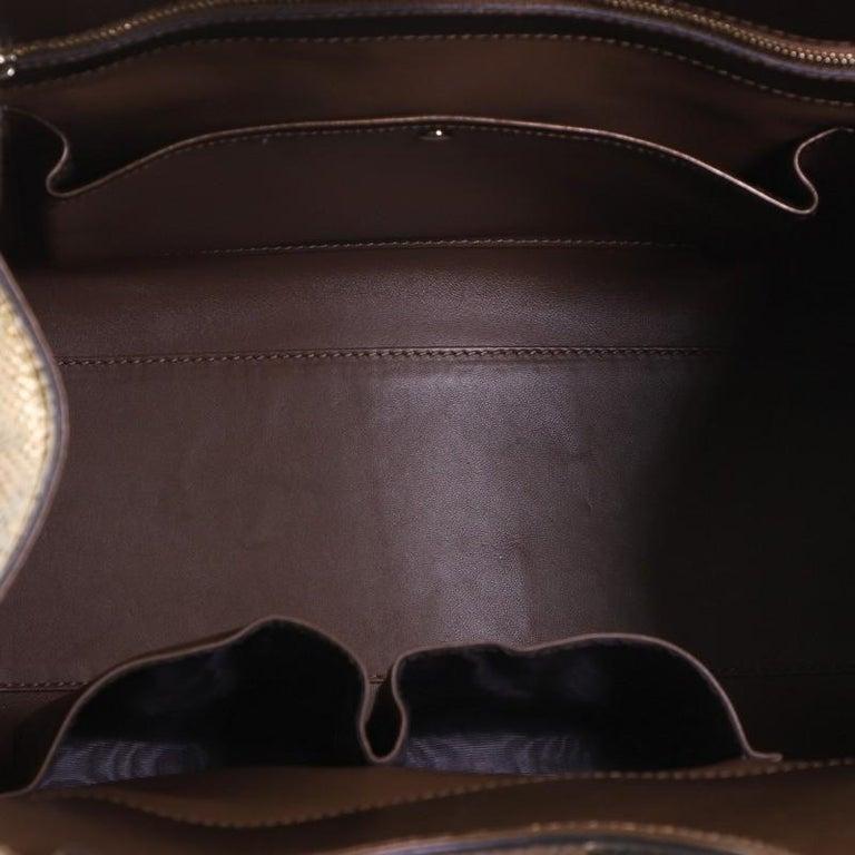 Gucci Stirrup Top Handle Bag Python Large For Sale 1