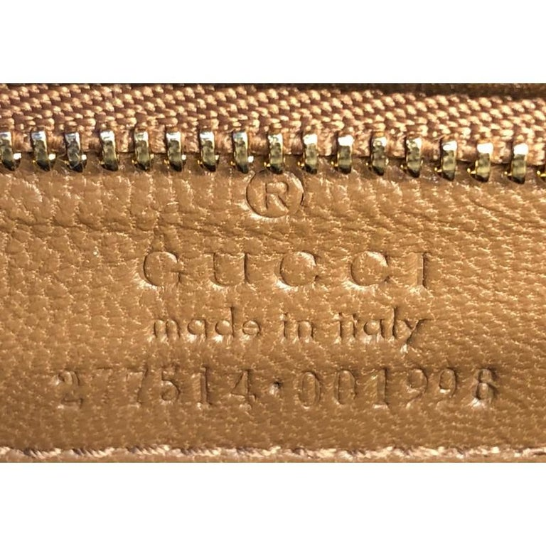 Gucci Stirrup Top Handle Bag Python Large For Sale 2