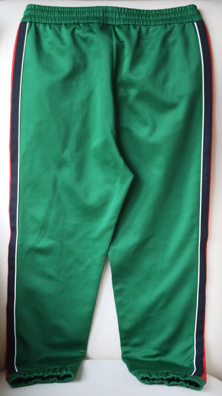 Gucci Striped Tech-Jersey Track Pants  In Excellent Condition In London, GB