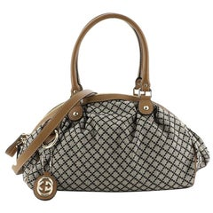 Gucci Sukey Boston Bag Diamante Canvas
