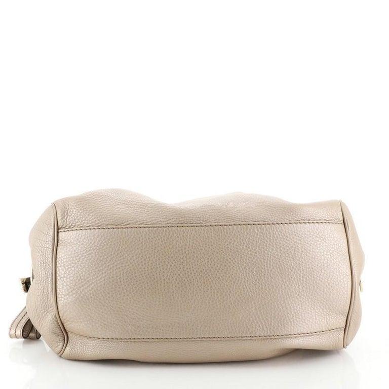 Women's or Men's Gucci Sukey Convertible Boston Bag Leather Medium For Sale